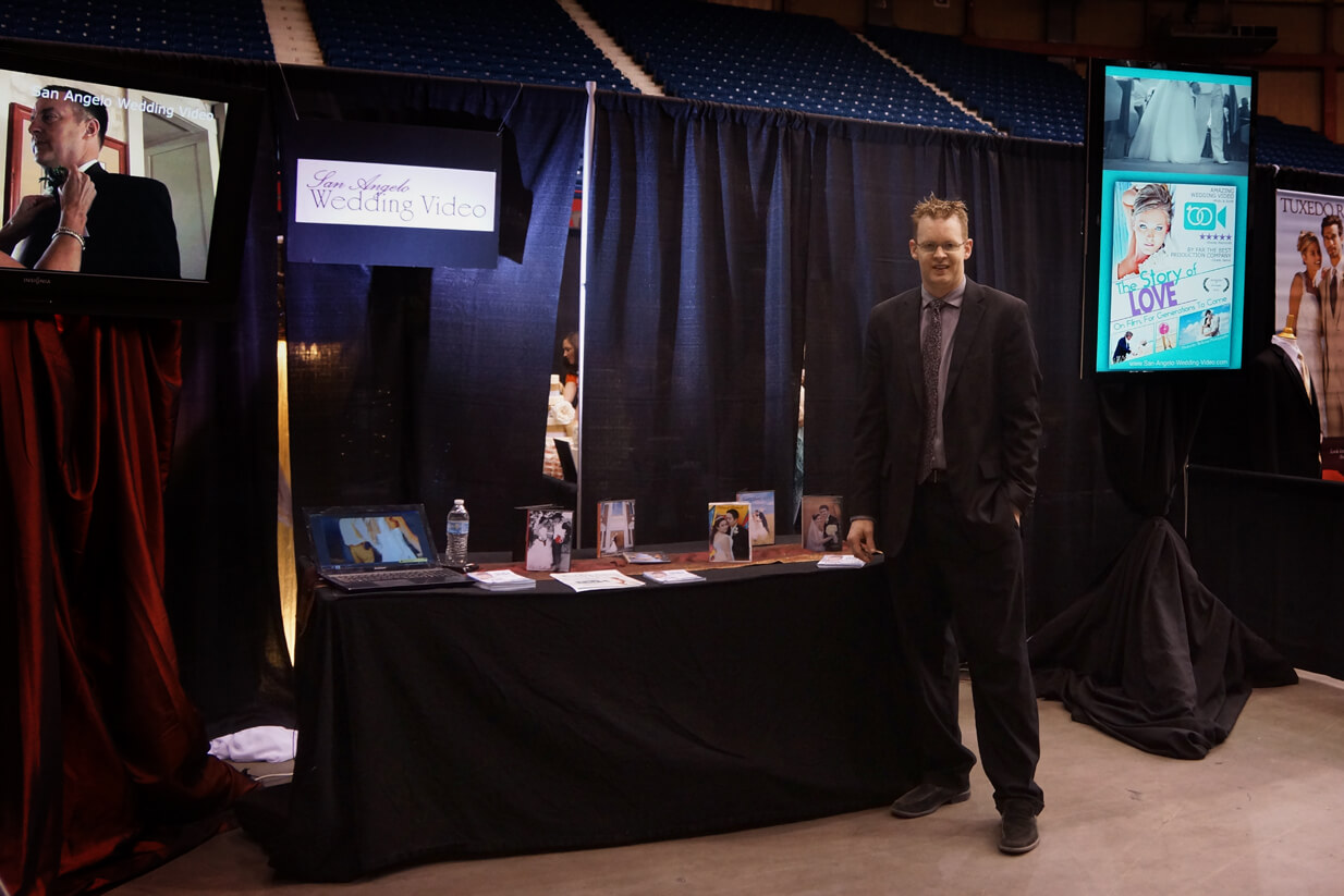 San Angelo Wedding Video Booth At The Show